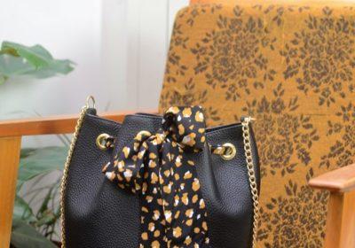 sac bourse atelier amand cuir noir