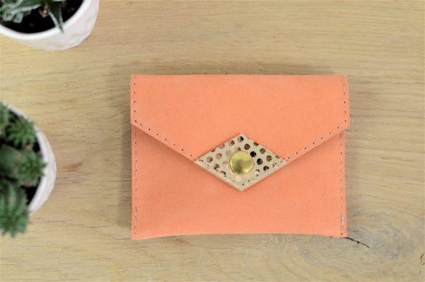 Porte-monnaie / Porte-cartes Orange