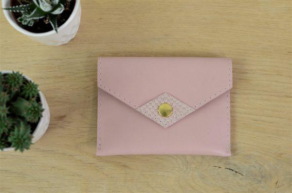 Porte-monnaie / Porte-cartes Rose
