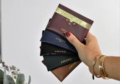 Petite maroquinerie atelier amand porte carte cuir 1