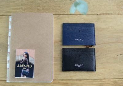 Petite maroquinerie atelier amand porte carte cuir homme