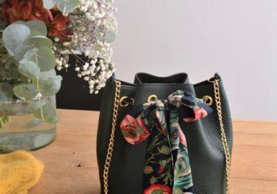 sac bourse atelier amand cuir vert 15