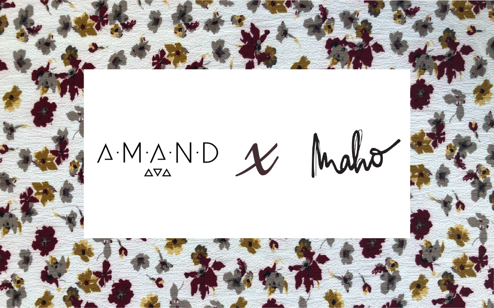 #ARTICLE 3 : La collaboration du printemps Maho x A.M.A.N.D