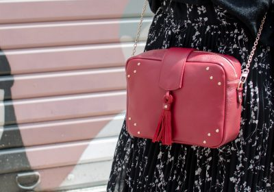 sac atelier amand divin cramberry 2
