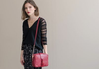 sac atelier amand divin cramberry 7
