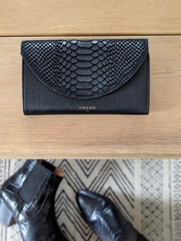 porte feuille noir 2
