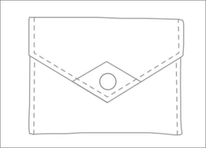 Création sur mesure Marie Pierre : Mini pochette