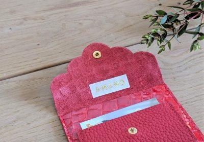 pochette rouge atelier amand