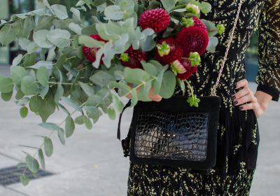Pochette irresistible noir croco atelier amand 3