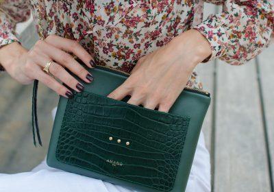 Pochette irresistible vert atelier amand 5